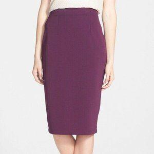 Women's Halogen Pencil Skirt Back Zipper Sexy Offi